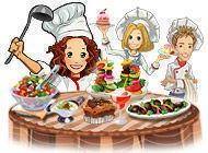 Fröhlicher Koch