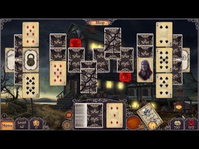Screenshot  «Jewel Match: Twilight Solitaire» № 4