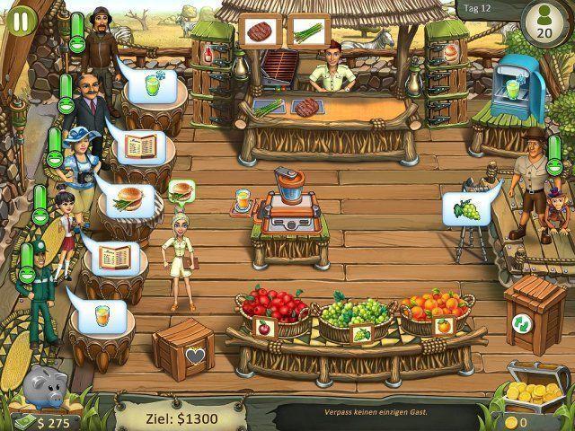 Screenshot  «Katy and Bob: Safari Cafe. Collector's Edition» № 1