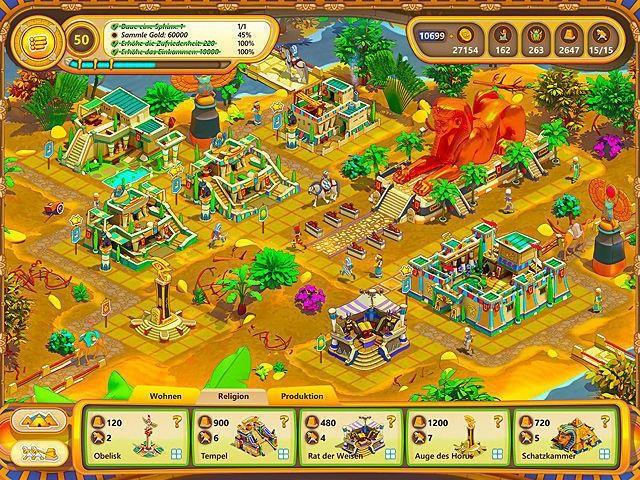Screenshot  «Ramses: Aufstieg eines Imperiums» № 2