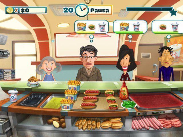 El alegre chef en Español game