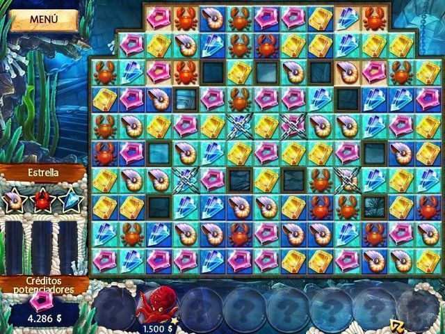 Jewel Legends: Atlantis en Español game