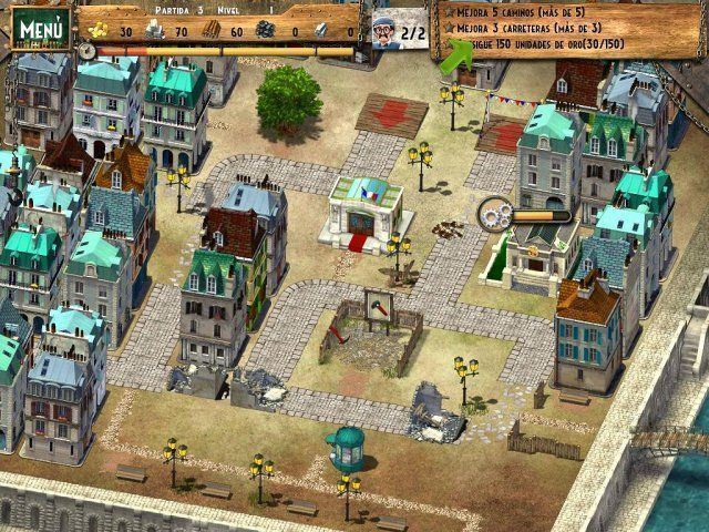 Monument Builder: Torre Eiffel en Español game