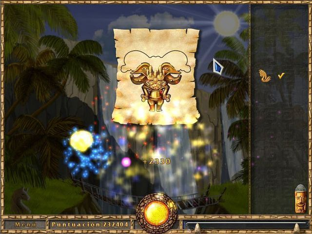 Treasures of the Ancient Cavern en Español game