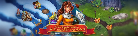 Alicia Quatermain 4: Da Vinci and the Time Machine. Collector's Edition