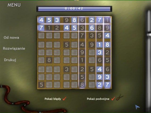 Zabawy z Sudoku
