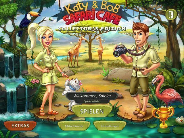 Katy and Bob: Safari Cafe. Collector's Edition