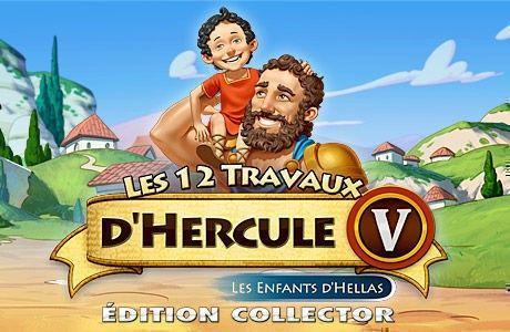 Les 12 Travaux d'Hercule V: Les Enfants d'Hellas. Edition Collector